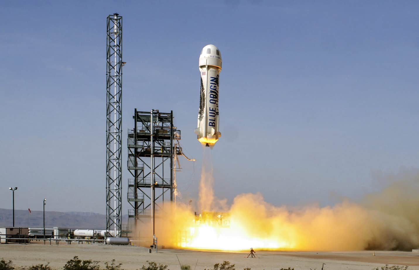 Best day ever: Jeff Bezos after his Blue Origin space launch