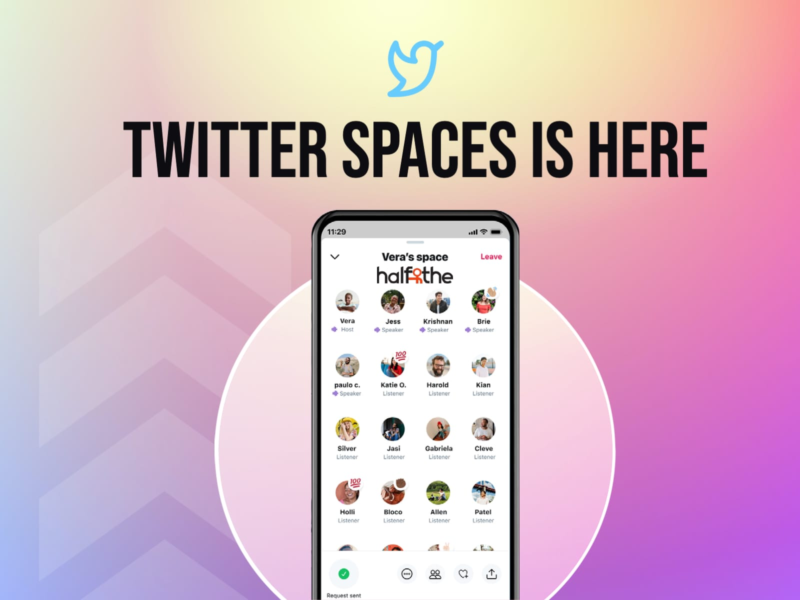 Twitter Spaces introduces a co-hosting feature and more