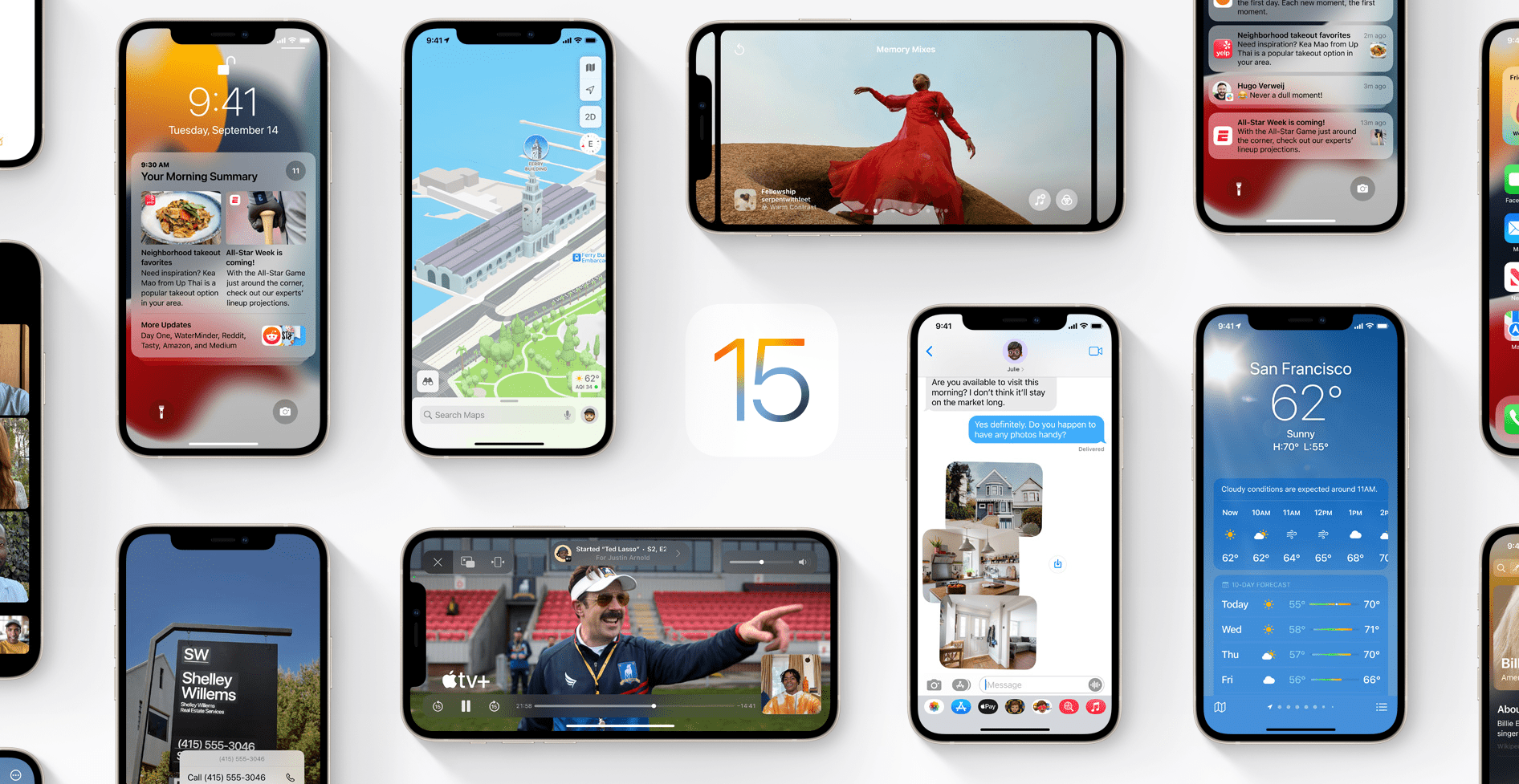 When is the iOS 15 and iPadOS 15 release date?