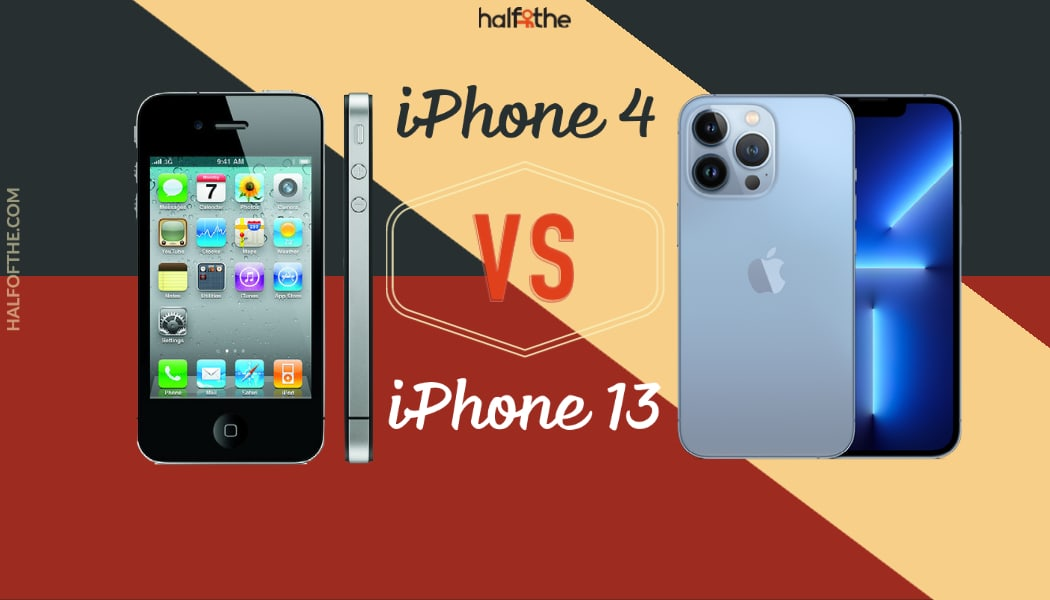 iPhone 4 vs iPhone 13: How much did iPhone's change?