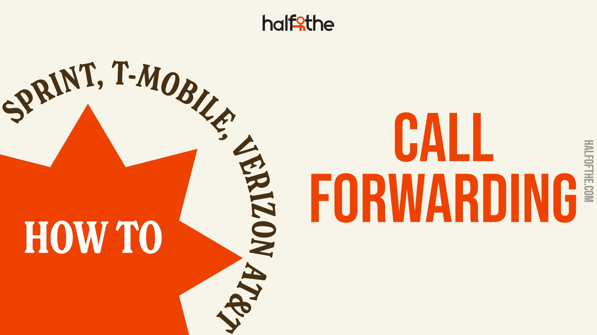 How to set up Call Forwarding with Sprint, T-Mobile, Verizon AT&T?
